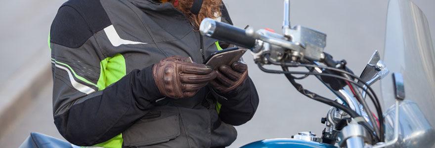 GPS pour moto